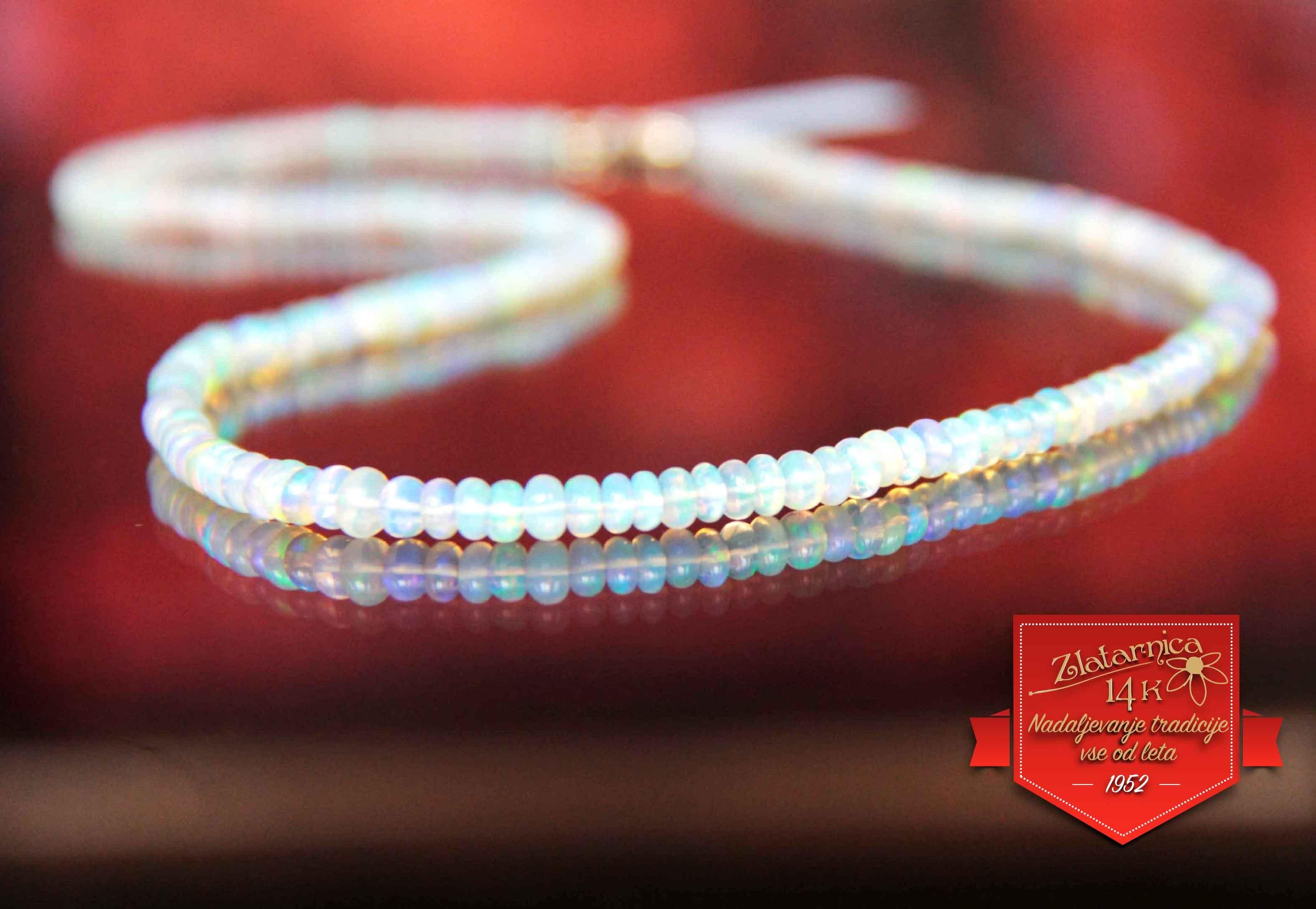 Ogrlica Opal