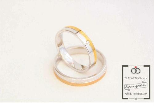 Poročna prstana 4L611