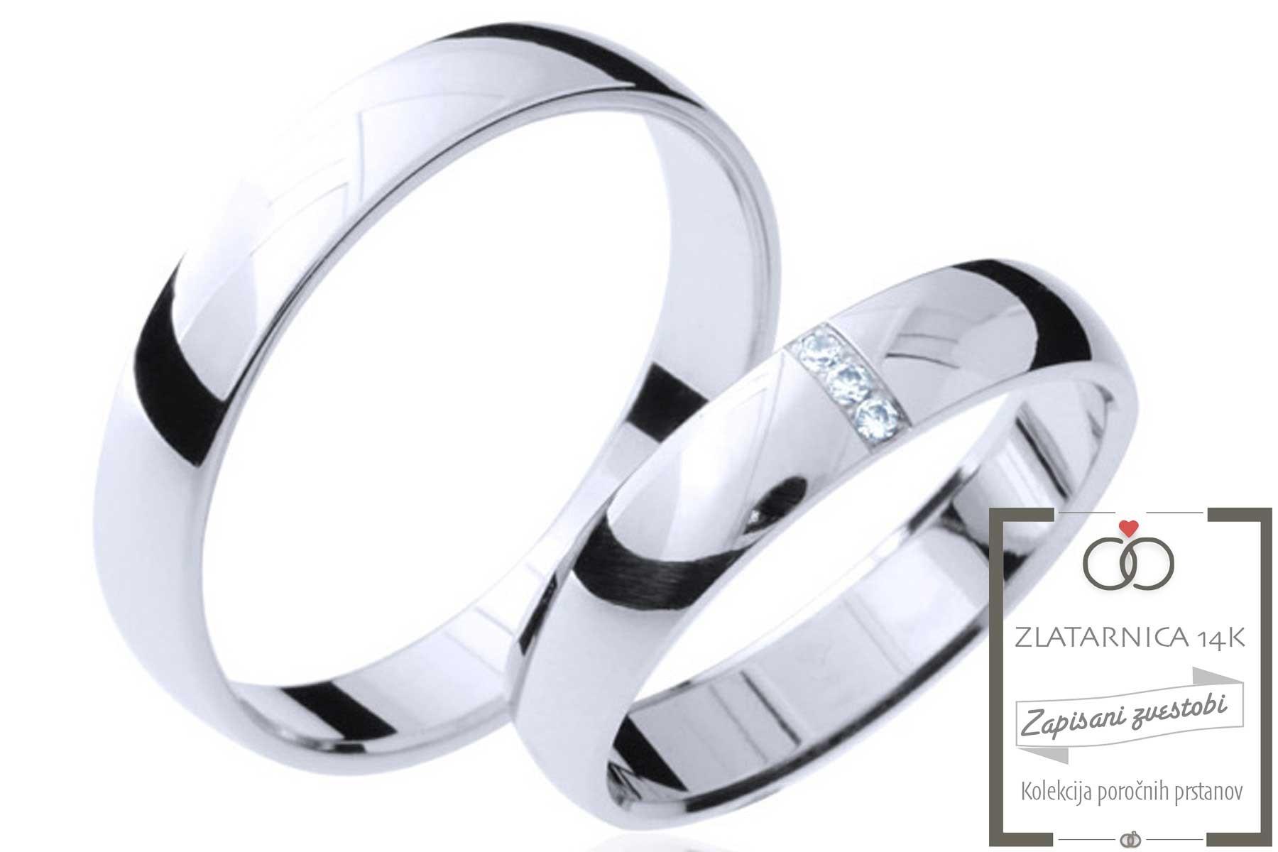 Poročna prstana 4B330