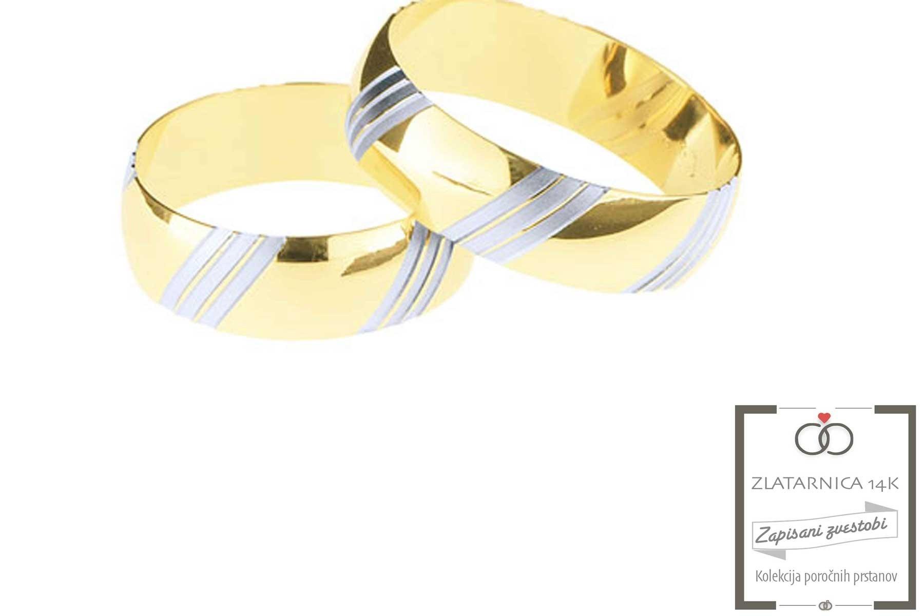 Poročna prstana 5B057