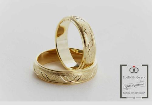 Poročna prstana 5B080