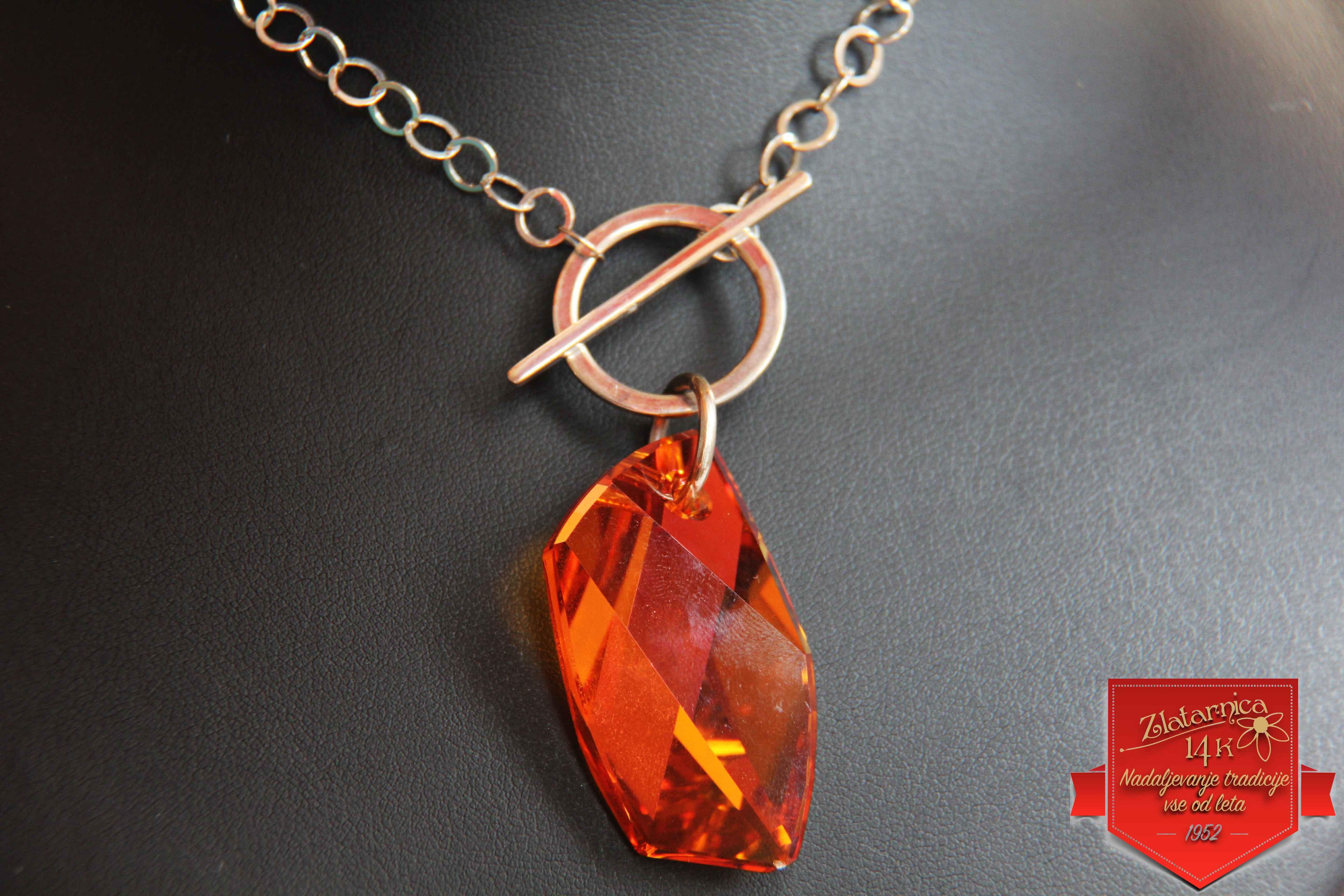 Ogrlica Orange