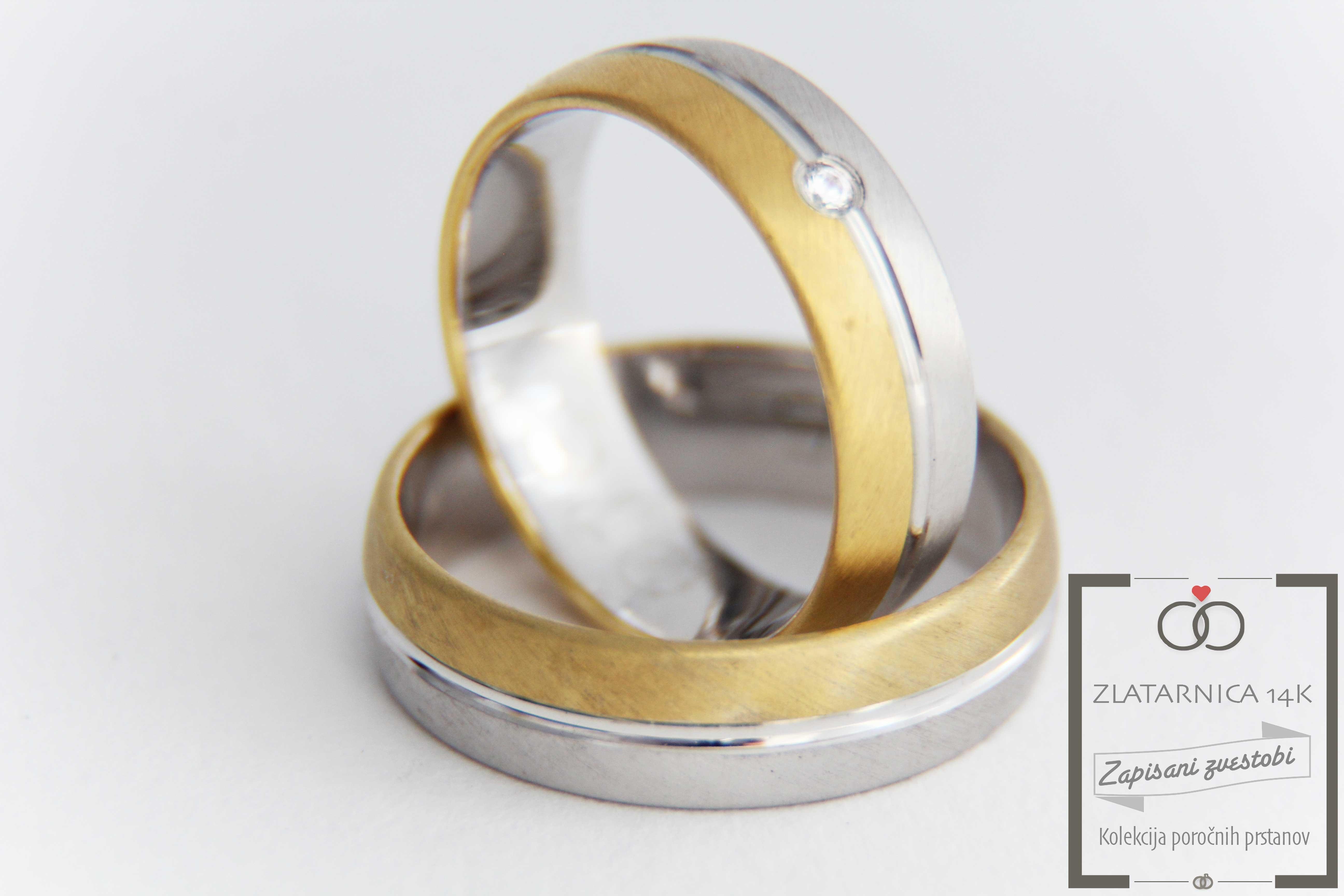 Poročna prstana 6L015