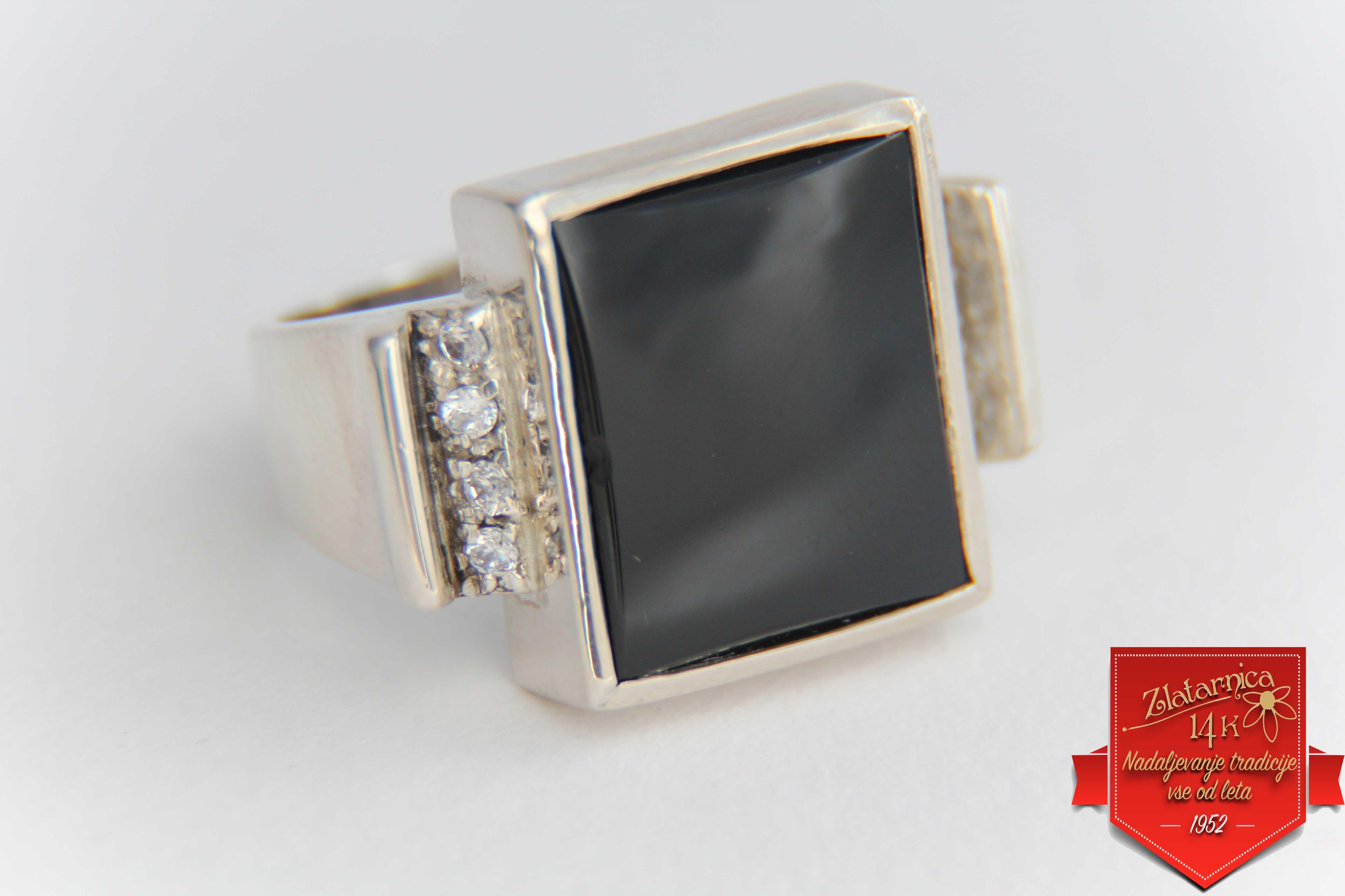 Unikaten prstan  Onyx