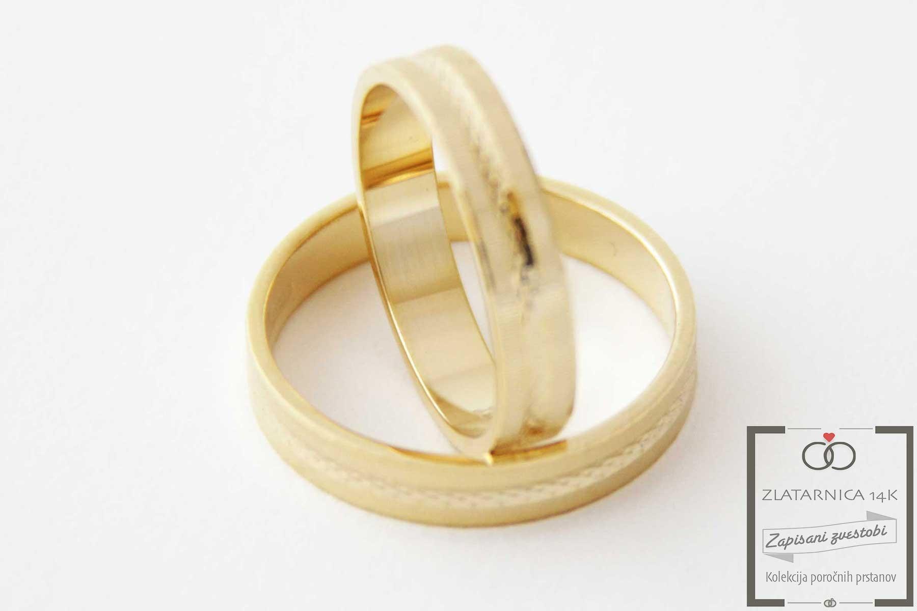 Poročna prstana 4A205R