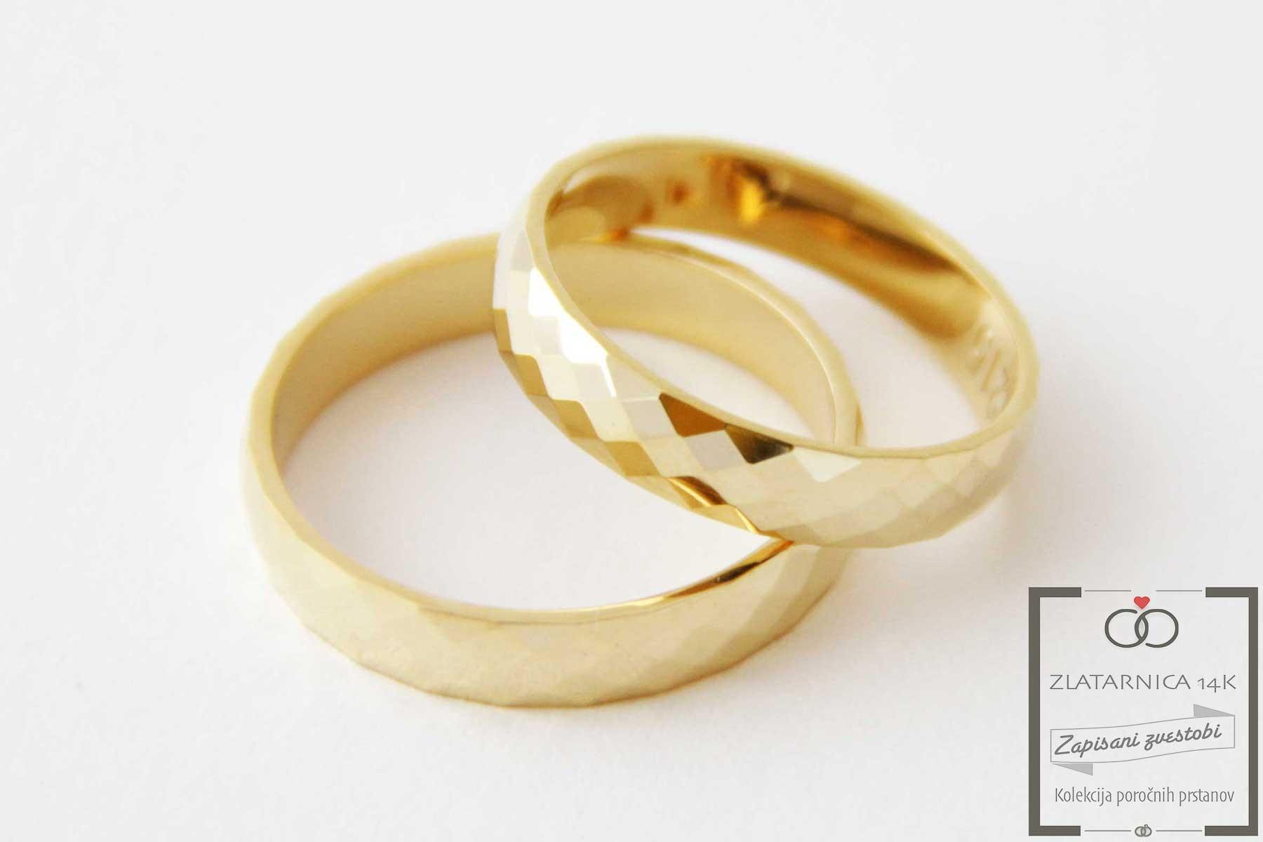 Poročna prstana 4B215R