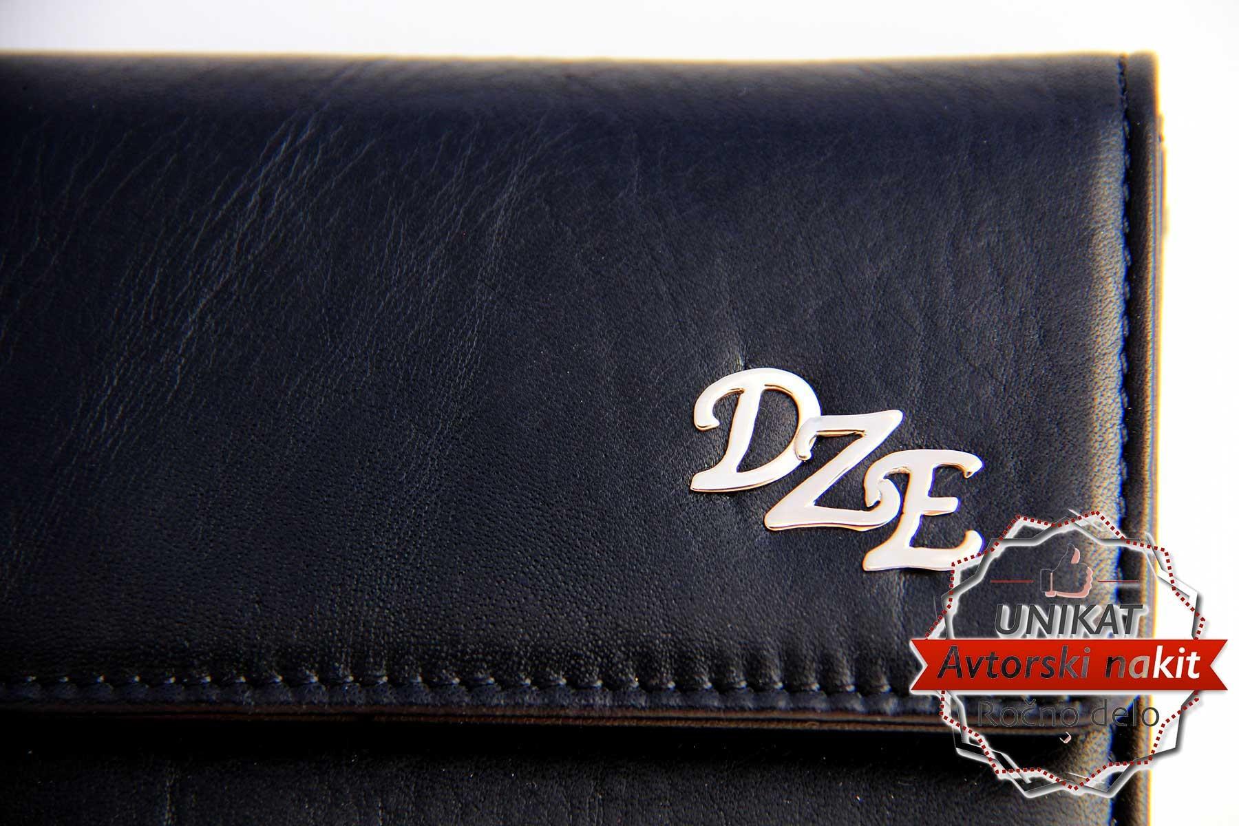 Monogramom za denarnico