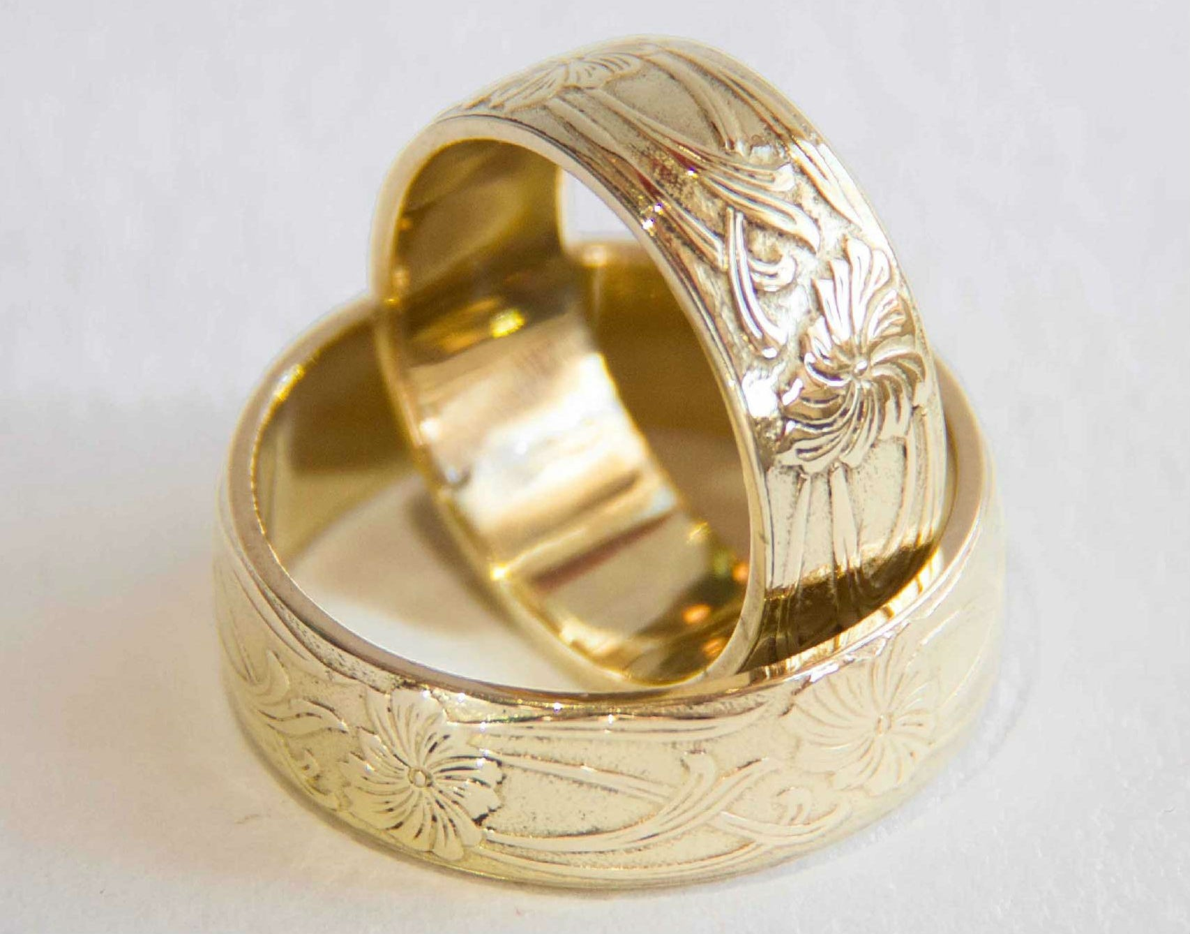 Poročna prstana Rože