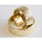Poročna prstana Barok